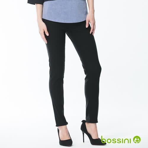 bossini女裝-超彈窄管褲18黑