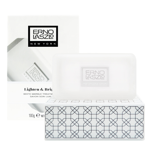 ERNO LASZLO 奧倫納素 白玉無瑕肌 透光白皂 100g White Marble Treatment Bar