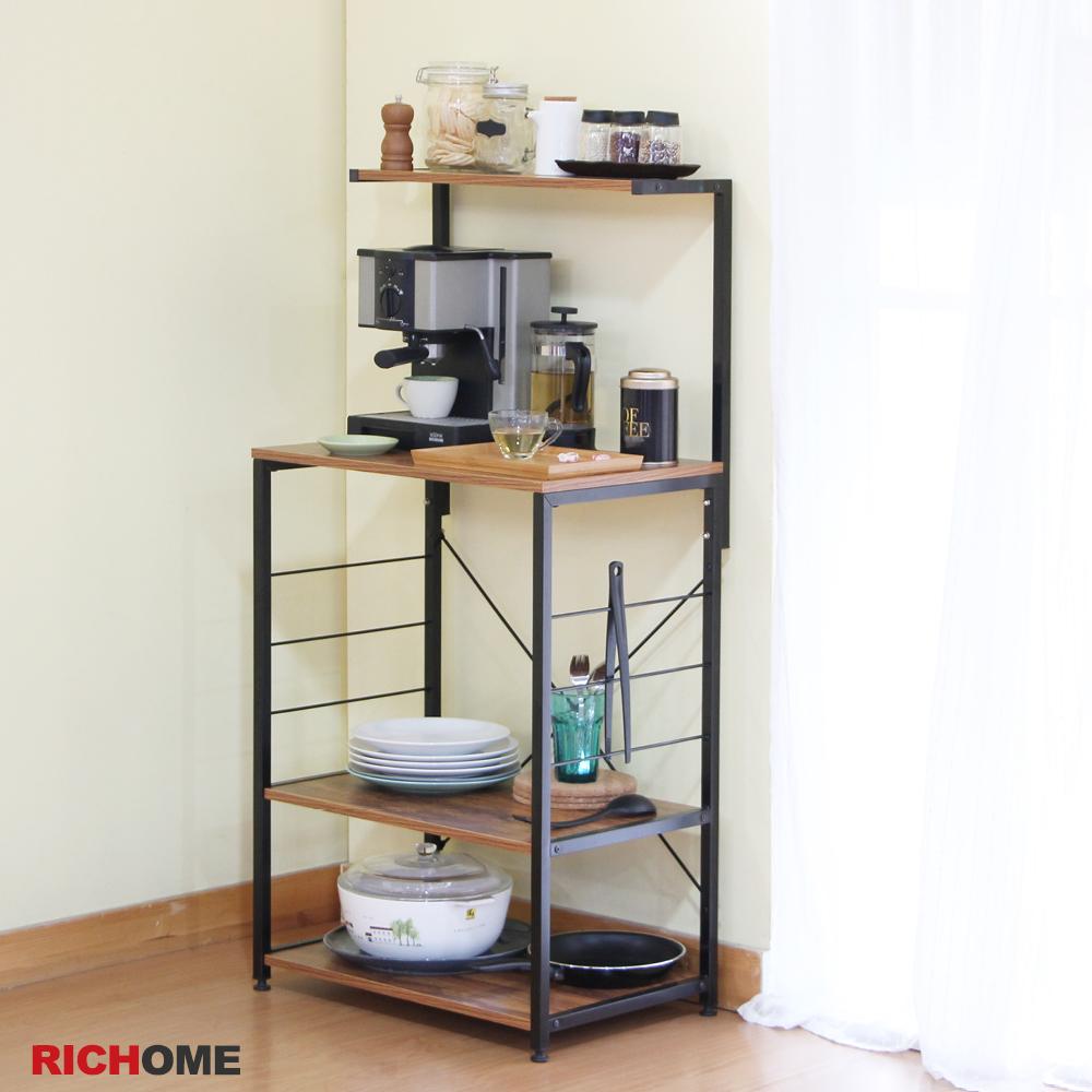 輕便省空間 超實用電器廚房架