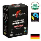 【Mount Hagen】有機即溶咖啡粉(2g x 25)