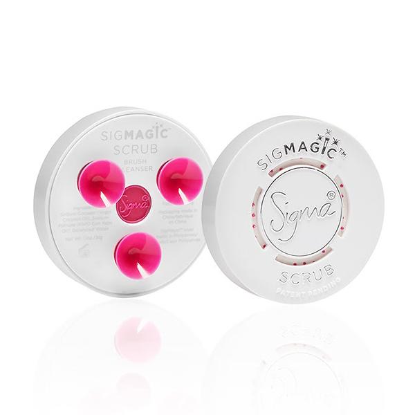 Sigma 刷具清潔肥皂盤 SigMagic Scrub 2-in-1 Solid Brush Cleanser