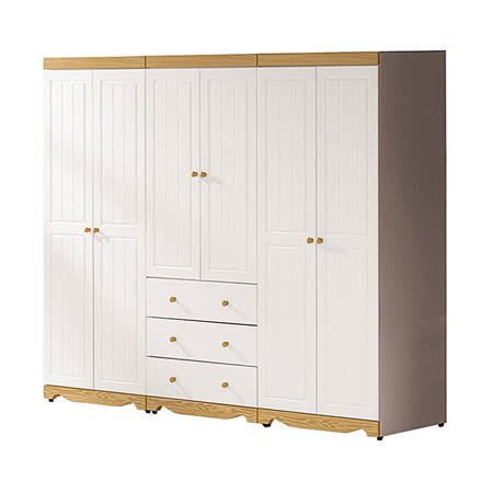【ABOSS】Woodrow-8.1尺組合衣櫃(全組)