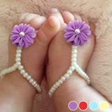 PS Mall 歐美熱銷嬰兒珍珠鞋子 【J480】