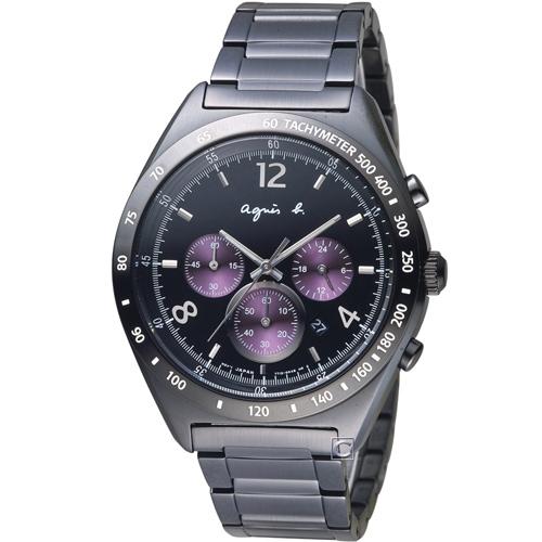 agnes b. 前衛玩酷時尚計時腕錶 7T12-0AP0T  BW8004P1