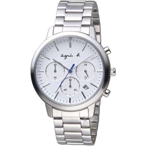 agnes b. 香榭生活風尚計時腕錶 BT3035X1 VD53-KJC0S