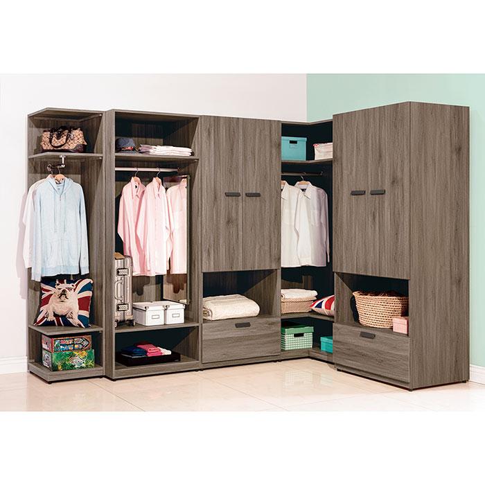 【ABOSS】Truman-8.9尺組合衣櫃(全組)