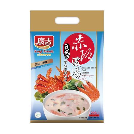廣吉 赤阪濃湯 蟹味海鮮味噌