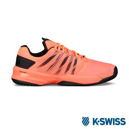 K-Swiss Ultrashot專業網球鞋-男-橘/黑