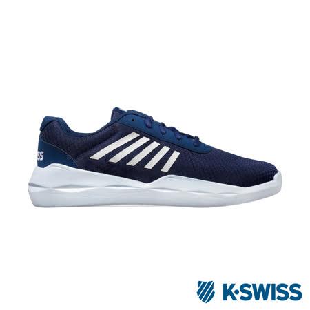 K-Swiss lnfinite Function輕量訓練鞋-男-藍/白