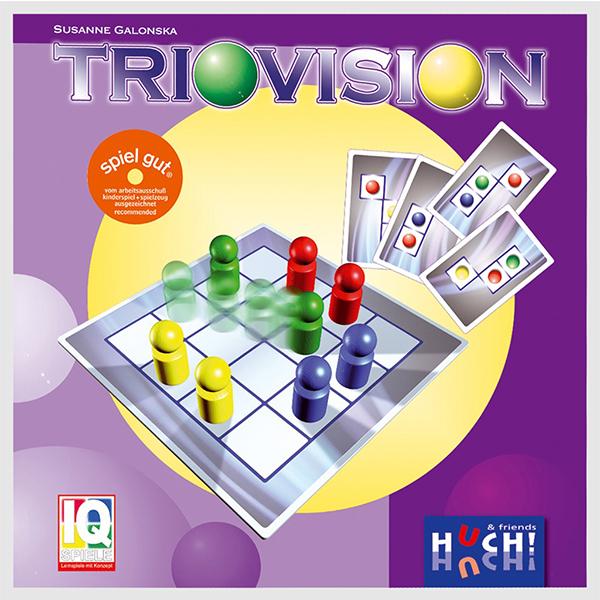 【樂桌遊】視覺運動會 Triovision