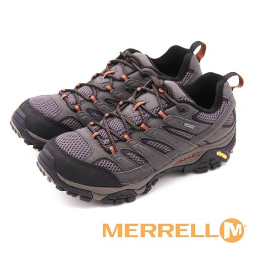 MERRELL MOAB 2 GORE-TEX防水登山運動 男鞋-復古灰(另有黑、咖啡、藍灰)