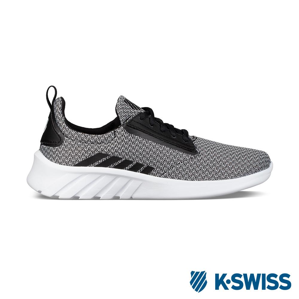 K-Swiss Aeronaut輕量訓練鞋-女-灰/黑/白