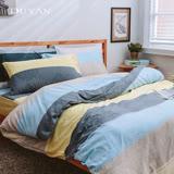 《DUYAN 竹漾》100%天絲絨雙人加大床包被套四件組-品味生活 台灣製