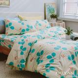《DUYAN 竹漾》100%天絲絨雙人加大床包被套四件組-花語怡然 台灣製