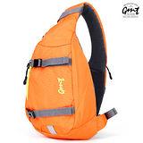 【GMT 挪威潮流品牌】單車休閒側背包-橘色