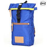 【GMT 挪威潮流品牌】多功能單車休閒側背包-寶藍