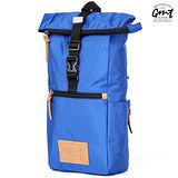 【GMT 挪威潮流品牌】多功能單車休閒側背包-藍色