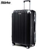 德國設計Starke LUXURY- 01 PC 26吋拉鍊鏡面行李箱 -黑色
