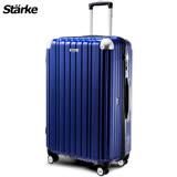 德國設計Starke LUXURY- 01 PC 28吋拉鍊鏡面行李箱 -藍色