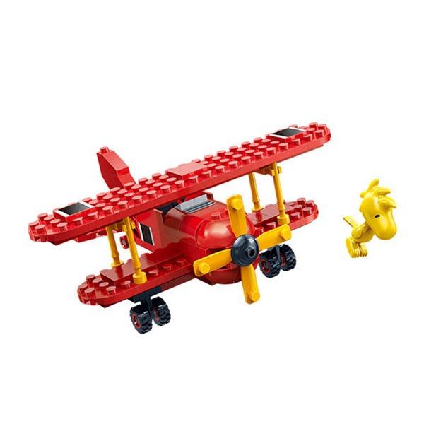 【BanBao 積木】史努比系列-紅男爵戰機7523 (樂高通用)
