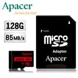 Apacer宇瞻 128GB MicroSDXC UHS-I Class10 記憶卡(85MB/s)