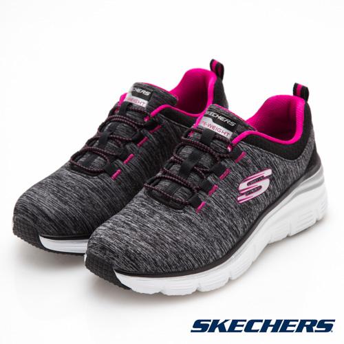 SKECHERS (女) 運動系列 FASHION FIT - 12716BKHP