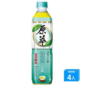 原萃綠茶玉露580ml*4