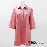 【克萊亞KERAIA】反摺袖開襟長版襯衫