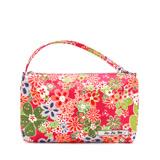 【美國Ju-Ju-Be媽咪包】BeQuick手拿包-Perky Perennials 花香飄飄-可放尿布紙巾媽媽包