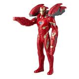 【孩之寶Hasbro】漫威 復仇者聯盟3 無限之戰 電影14吋電子聲光重武裝鋼鐵人 E0560