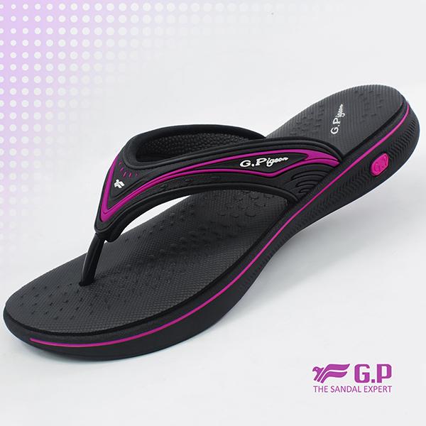 【G.P 女款超輕量舒適夾腳拖鞋】G8573W-黑桃色(SIZE:36-39 共三色)