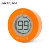 《ARTISAN》圓形計時器ART01O(橘)