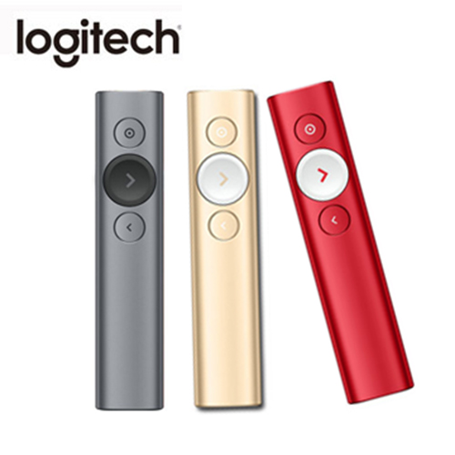 羅技 Logitech SPOTLIGHT 簡報遙控器   灰 香檳金 聖誕紅