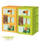 【MR.BOX】小鹿安迪 DIY組裝式 三層收納櫃 (兩色可選)/收納箱/整理箱/收納盒/衣櫥/衣櫃/鞋櫃