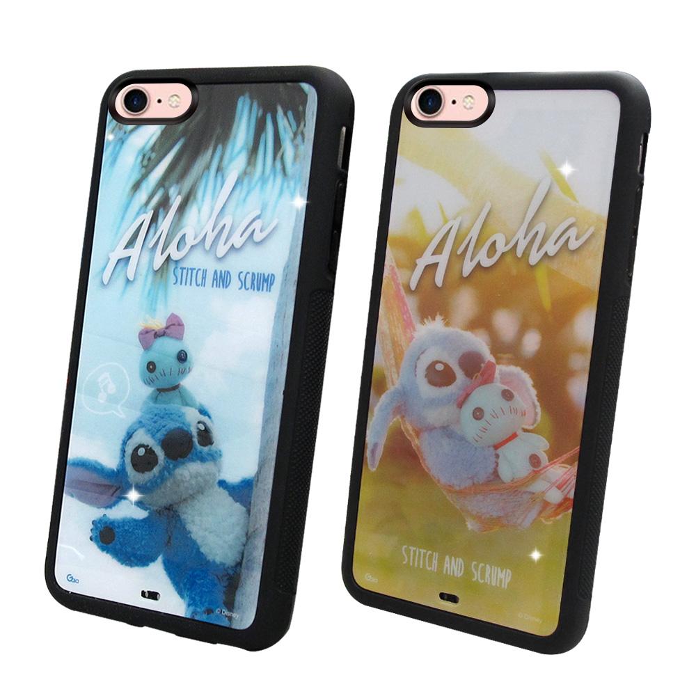 迪士尼正版授權 iPhone 8/iPhone 7 4.7吋 史迪奇布偶版 防滑手機殼(吊床/hi)