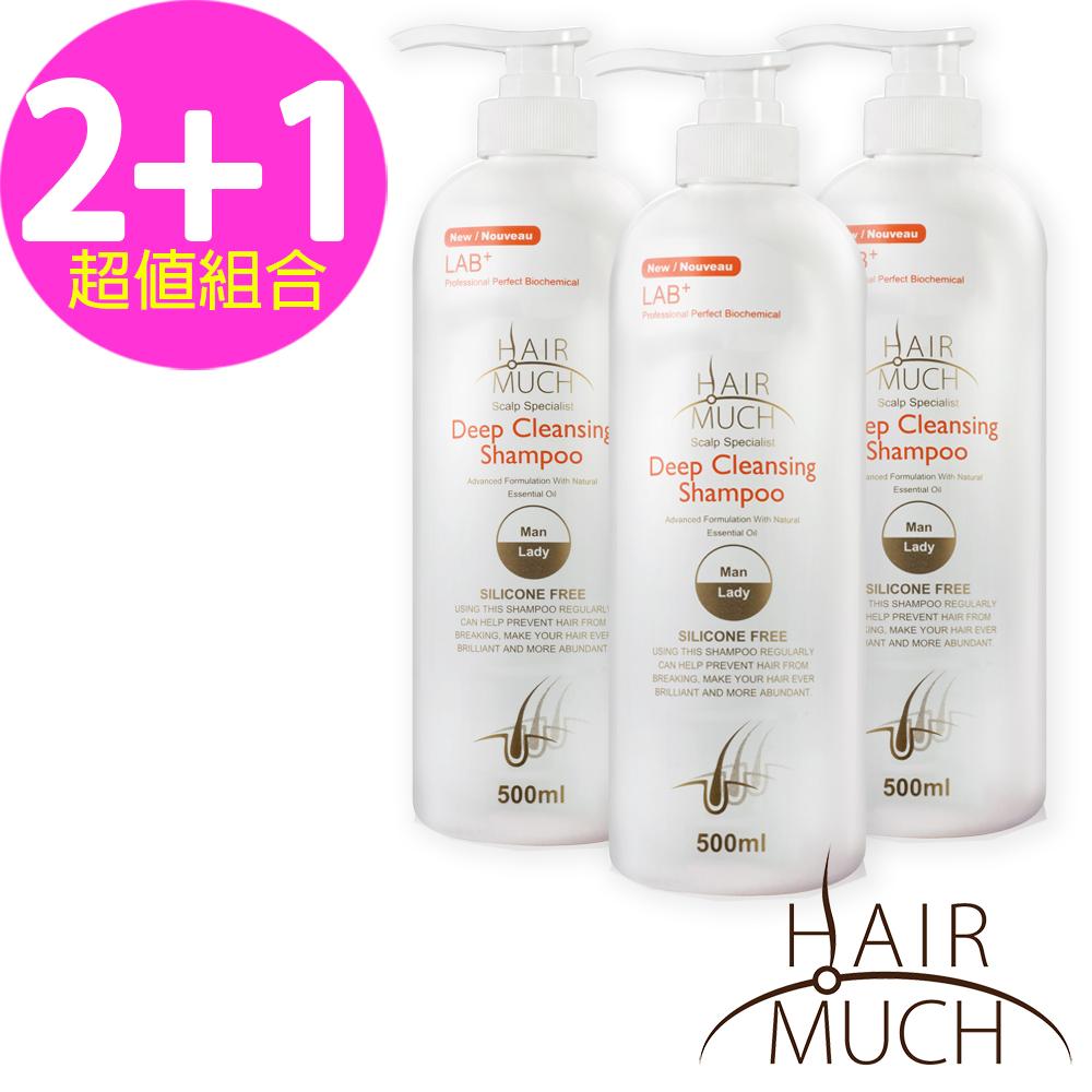 【HAIR MUCH】深層潔淨養洗髮精500ml X3