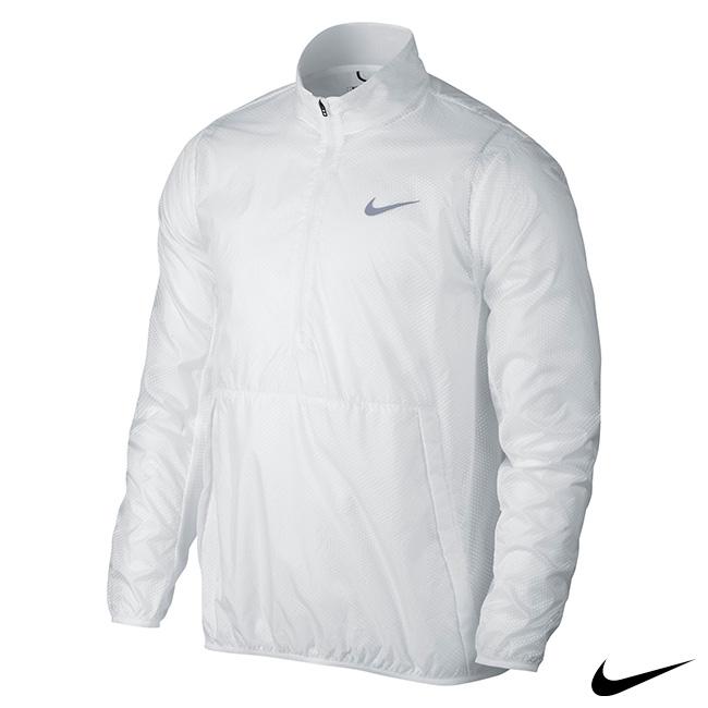 NIKE 男子運動罩衫上衣 白 824605-100