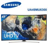 SAMSUNG三星 49吋 LED 聯網黃金曲面4K電視 UA49MU6300/UA49MU6300WXZW(含標準安裝)★加碼贈Panasonic神級吹風機EH-NA27市價2890元★