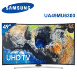 【SAMSUNG三星】 49吋 LED 聯網黃金曲面4K電視 UA49MU6300/UA49MU6300WXZW(含標準安裝)