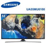 SAMSUNG三星 55吋 LED 聯網4K電視 UA55MU6100/UA55MU6100WXZW(含標準安裝)★加碼贈Panasonic神級吹風機EH-NE57市價2490元★