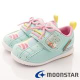 日本Carrot機能童鞋--馬卡龍點心風機能款-(B1027薄荷-13-14.5cm)