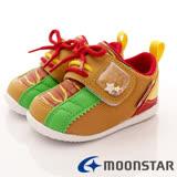 日本Carrot機能童鞋--HOT DOG點心機能款-(B1028卡其-13-14.5cm)