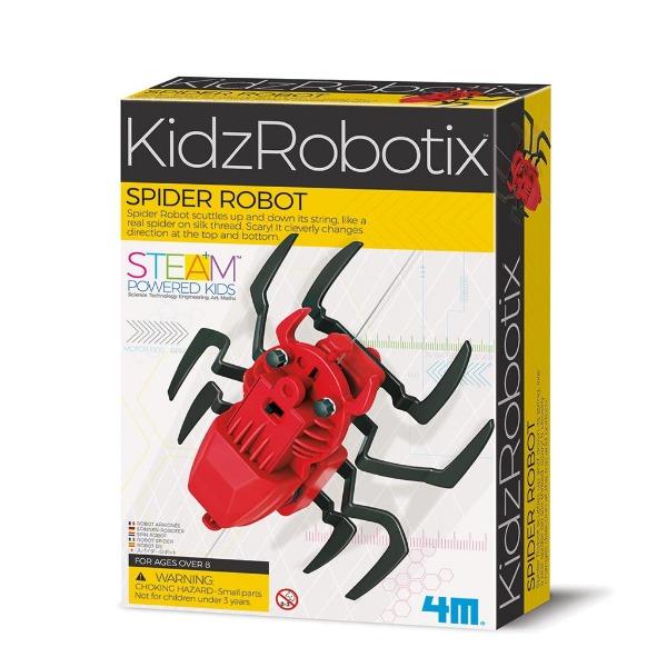 【4M】科學探索系列-機械蜘蛛 Spider Robot 00-03392