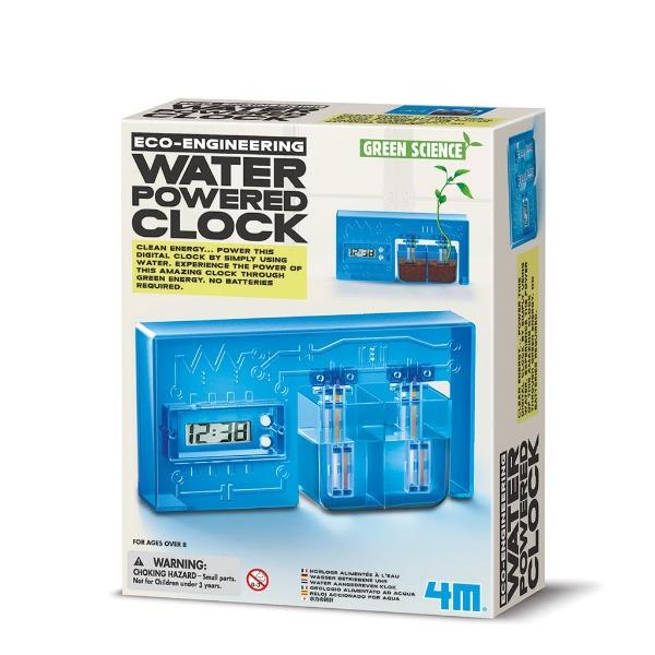 【4M】科學探索系列-水能量時鐘 Water-powered Clock 00-03411