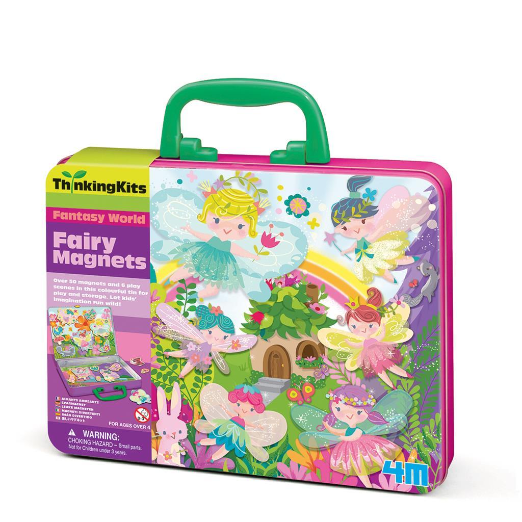 【4M】學齡前啟蒙系列-仙子樂園磁貼組 Fairy Magnets 00-04709