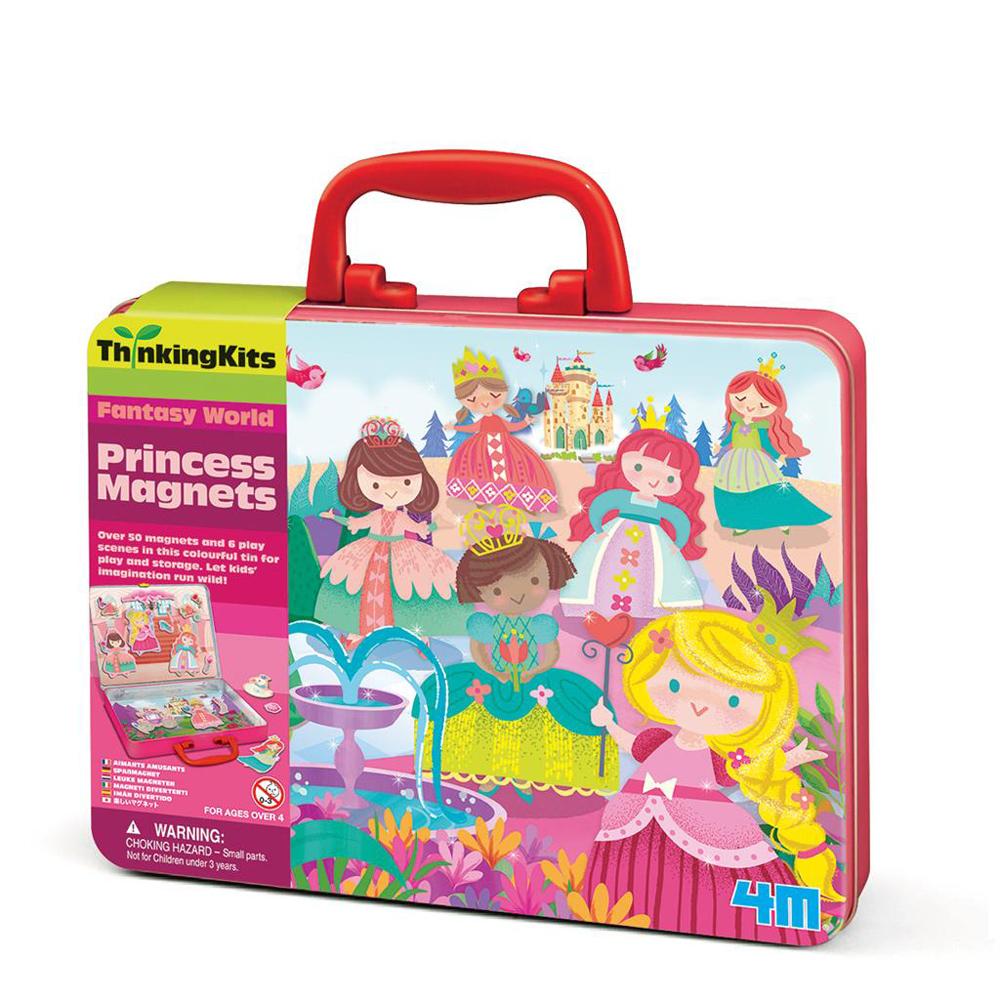 【4M】學齡前啟蒙系列-童話公主磁貼組 Princess Magnets 00-04710