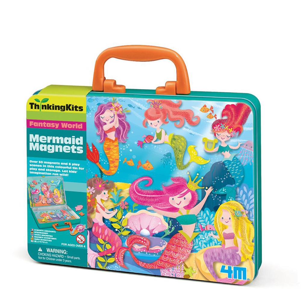【4M】學齡前啟蒙系列-小美人魚磁貼組 Mermaid Magnets 00-04711