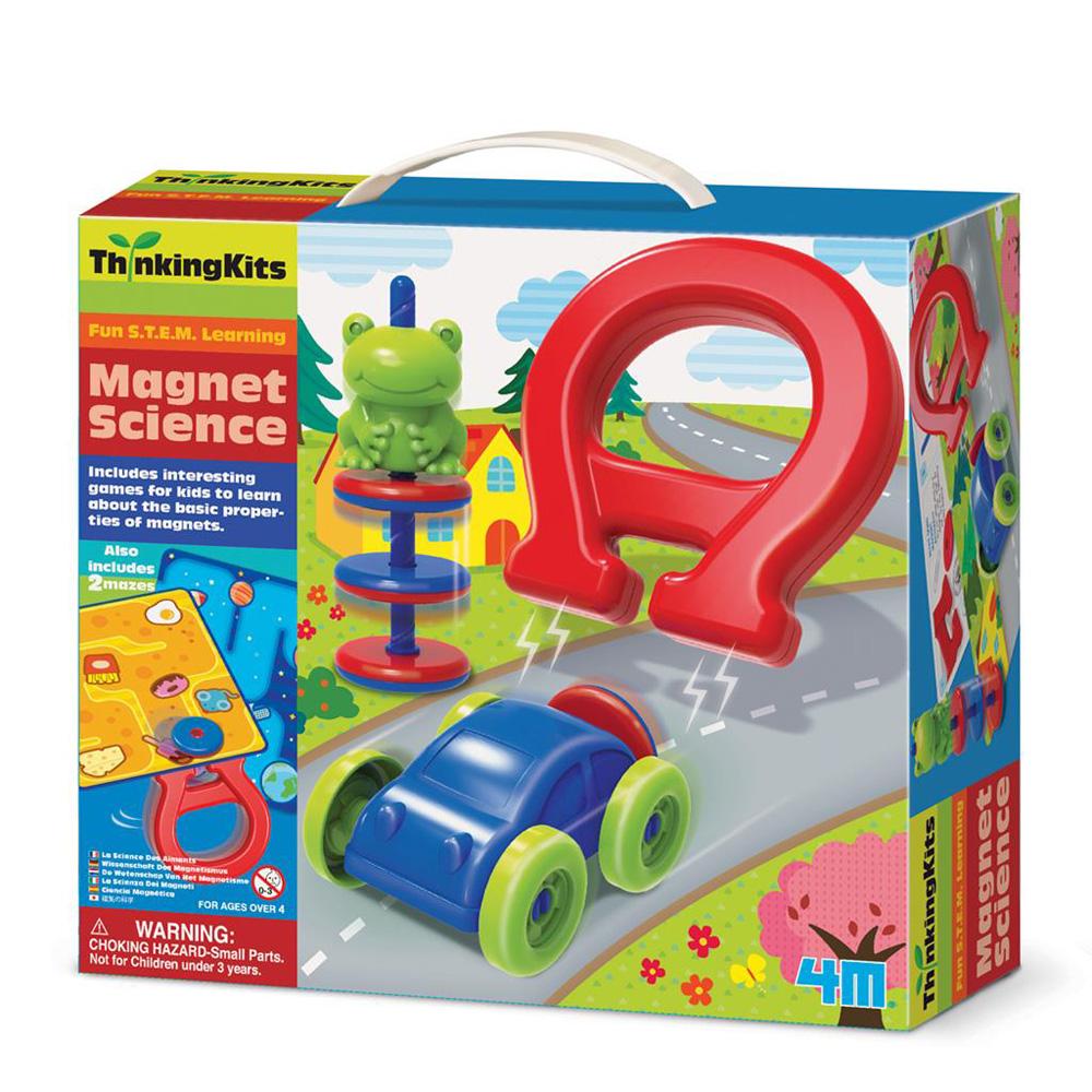 【4M】學齡前啟蒙系列-趣味的磁力 Magnet Science 00-04713