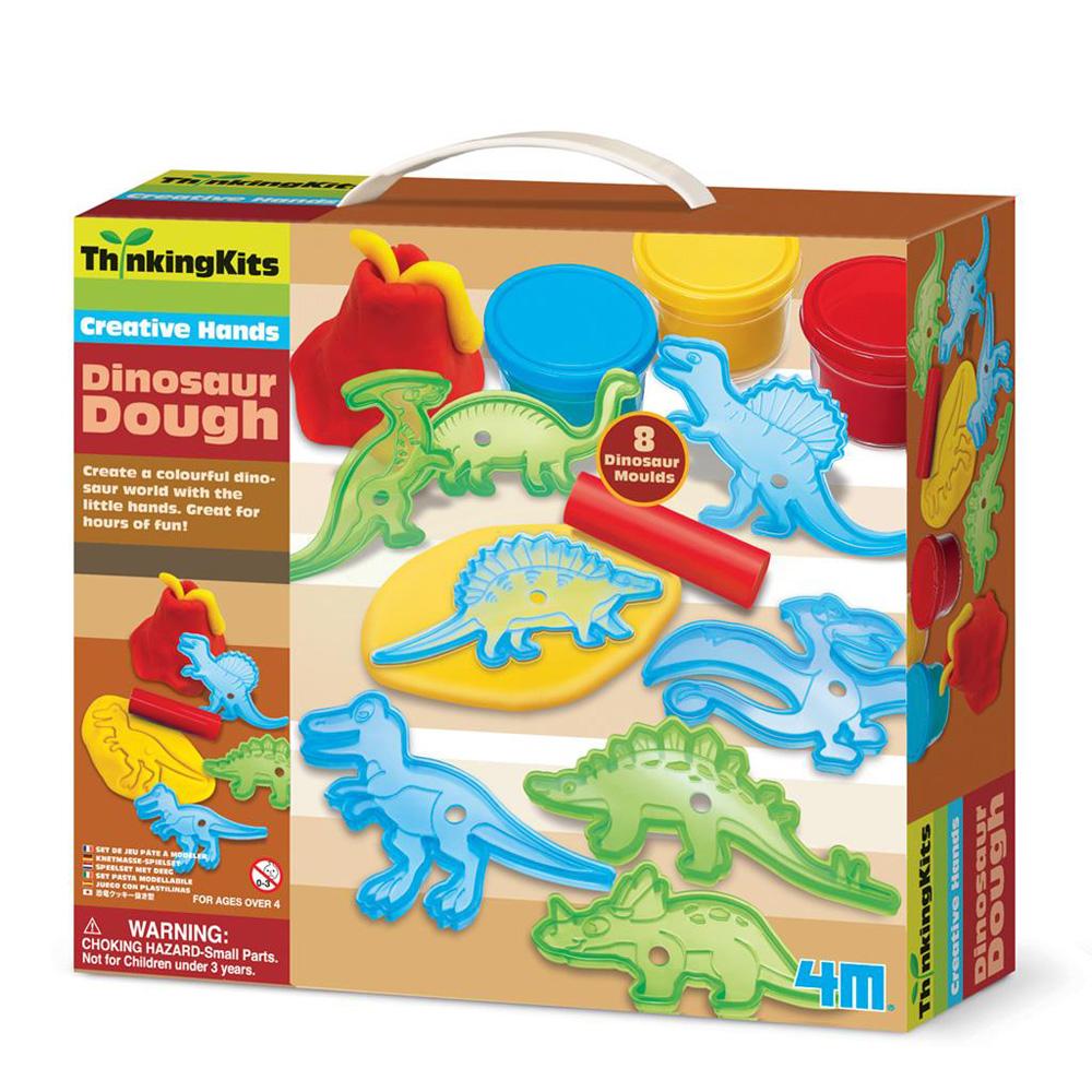 【4M】學齡前啟蒙系列-恐龍黏土工廠 Dinosaur Magnets 00-04716