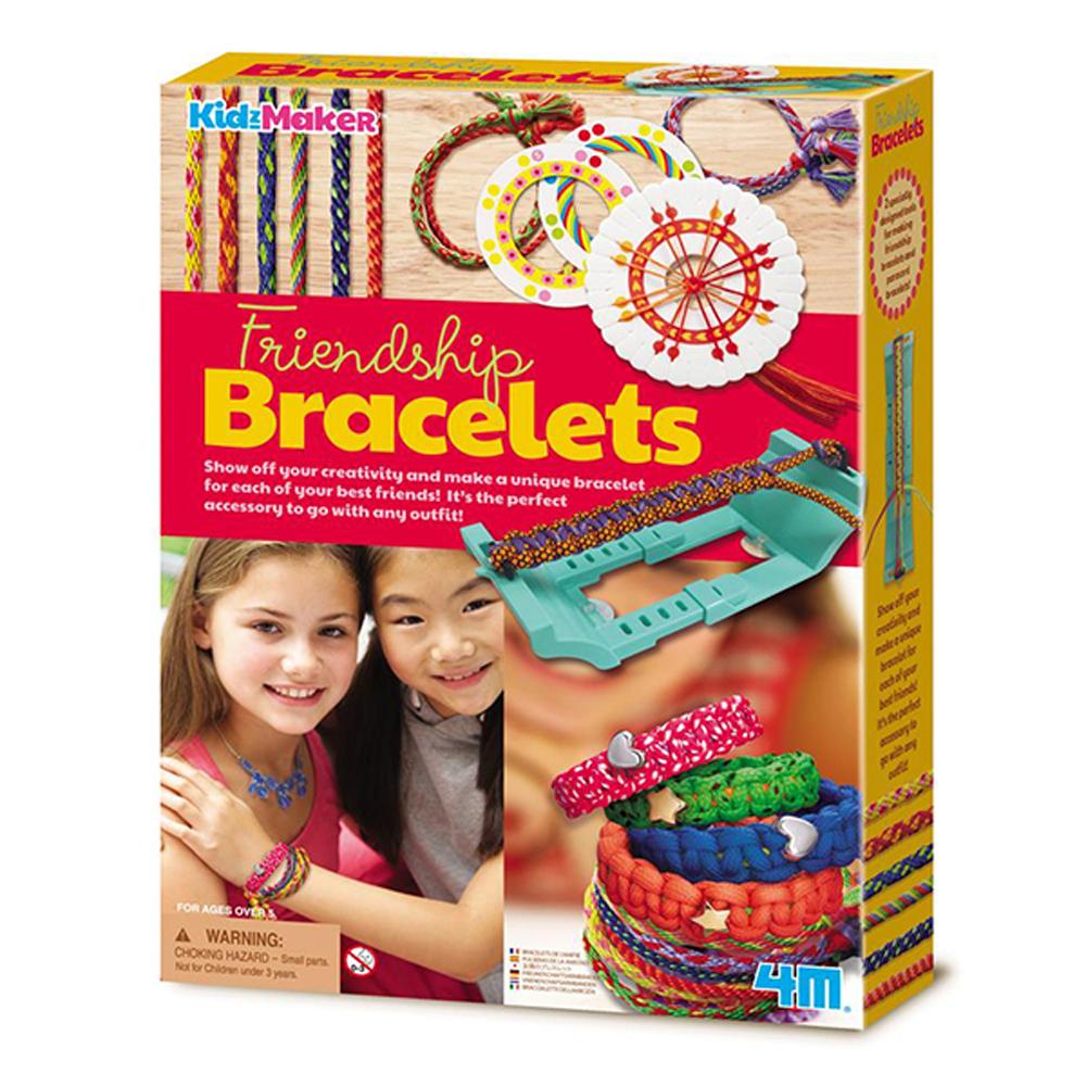 【4M】美勞創作系列-編織友誼手環 Friendship Bracelets 00-04728